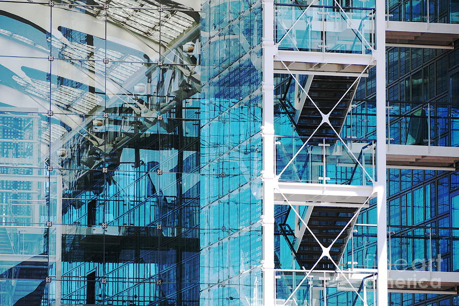 Architecture Photograph - Modern Times by Juergen Klust