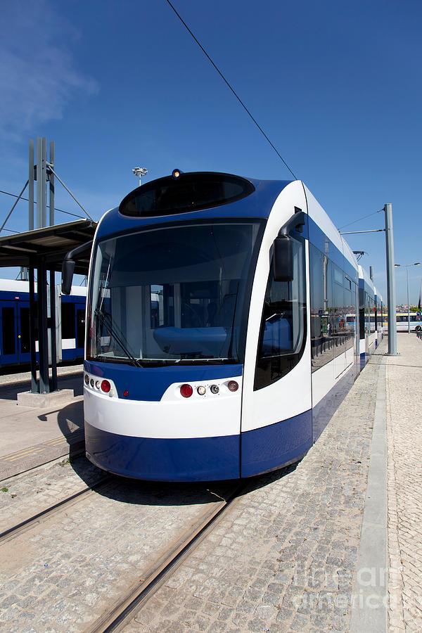 Modern Tram Photograph