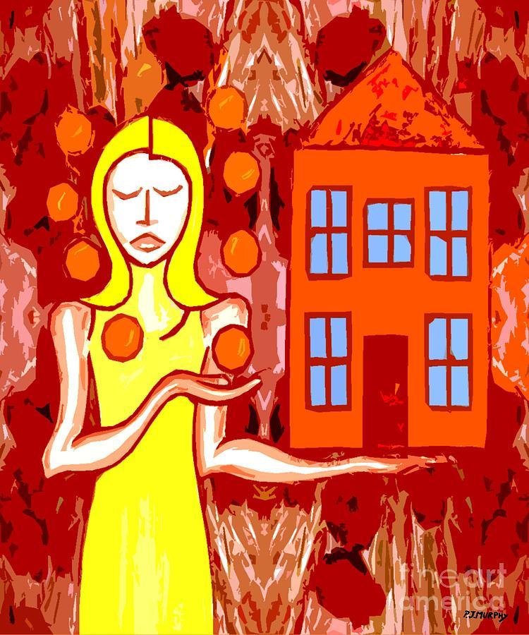 Modern Woman Painting