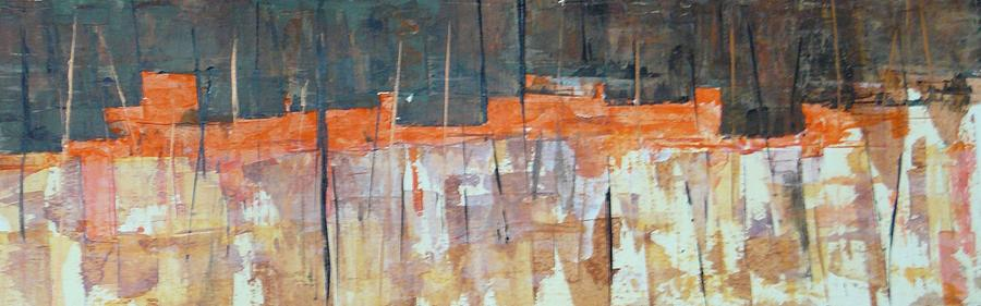 Mojave Skyline Painting