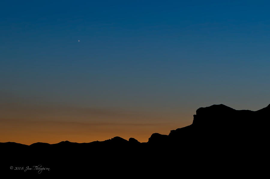Mojave Sunset Photograph