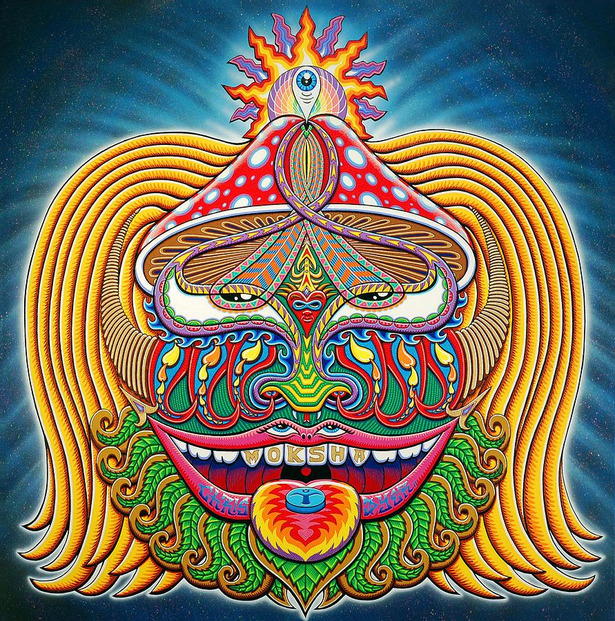moksha master painting by chris dyer