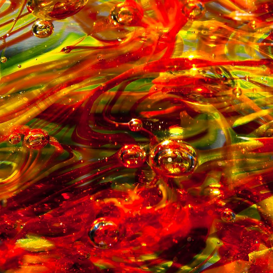 Molten Bubbles Photograph