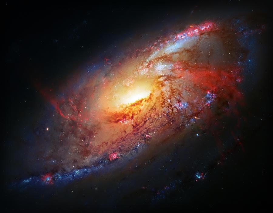 Molten Galaxy Photograph