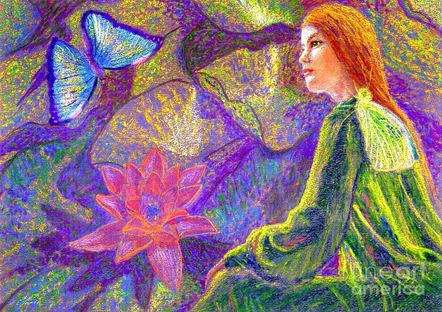 Moment Of Oneness Painting  - Moment Of Oneness Fine Art Print