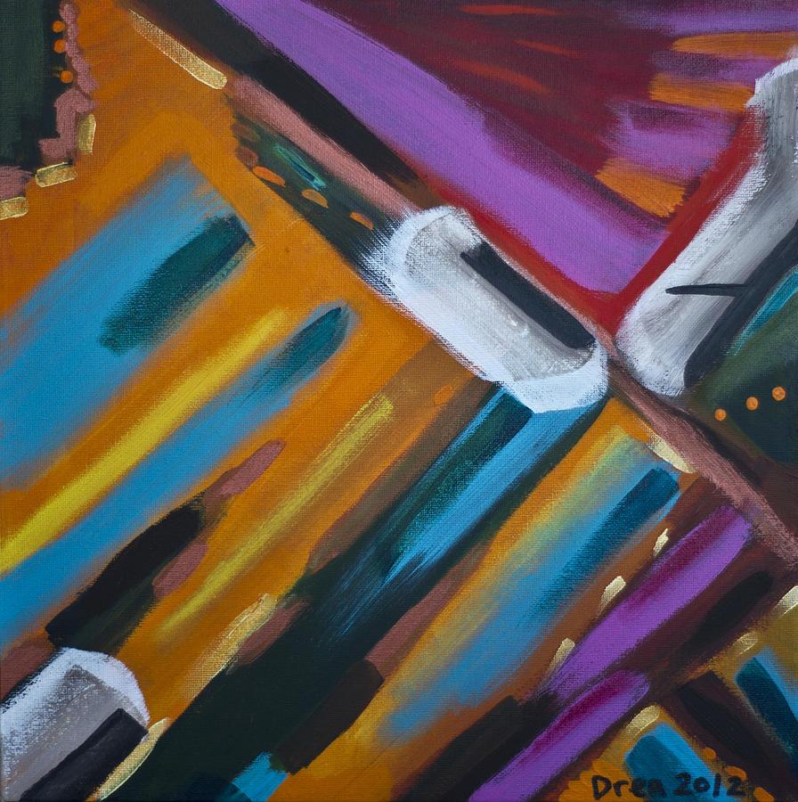 Spirit Painting - Momentum 2012 by Drea Jensen