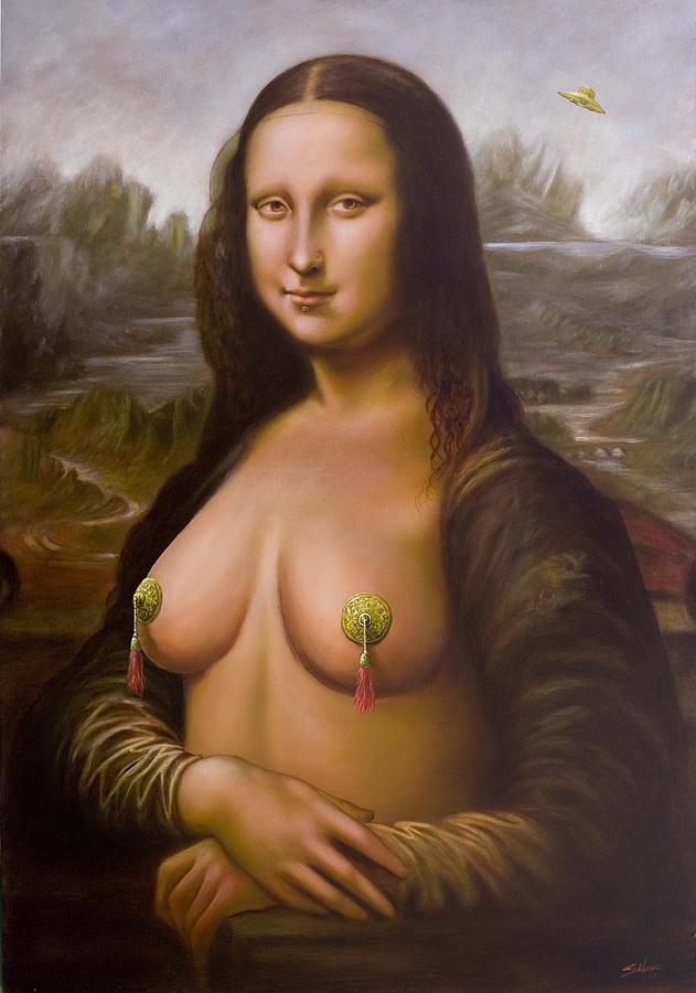 Mona Lisa II Painting