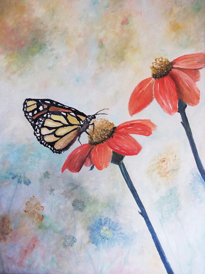 Monarch Painting  - Monarch Fine Art Print