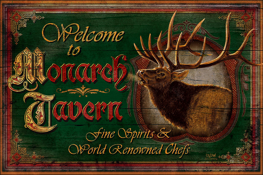 Monarch Tavern Painting  - Monarch Tavern Fine Art Print