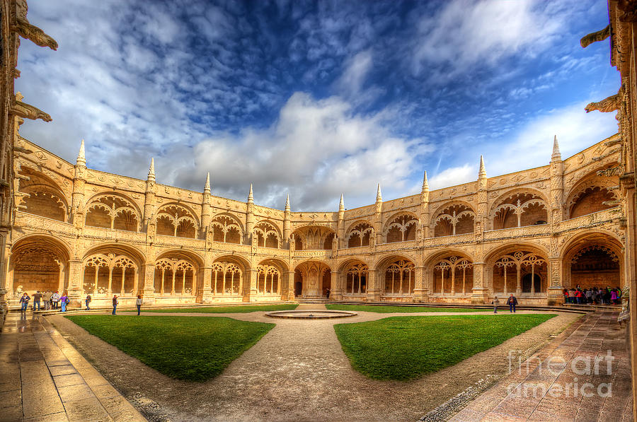 Monastery Dos Jeronimos Photograph  - Monastery Dos Jeronimos Fine Art Print