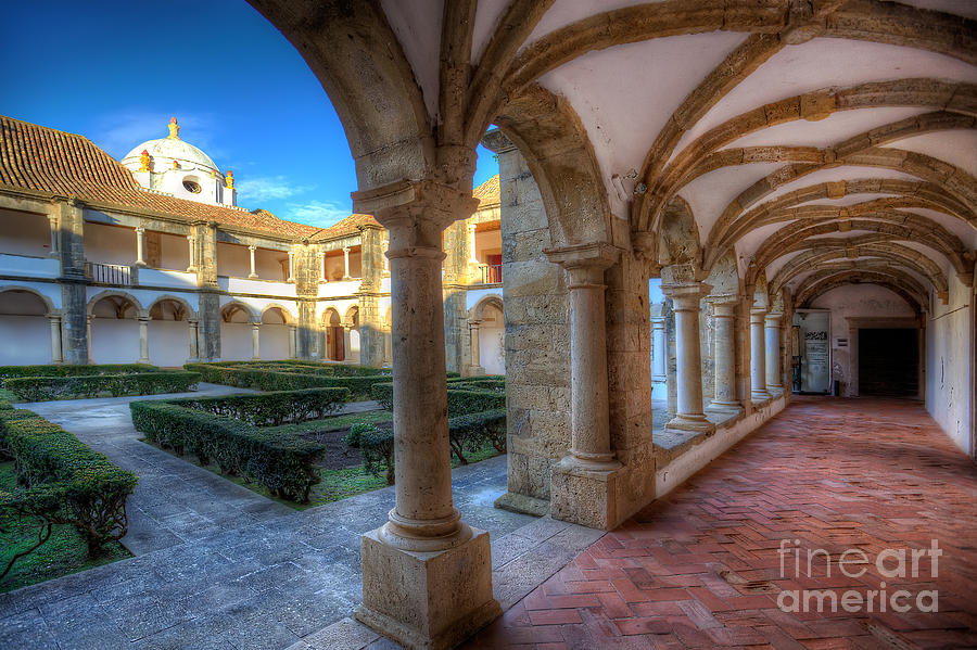 Monastery Of Nossa Senhora Da Assuncao Photograph