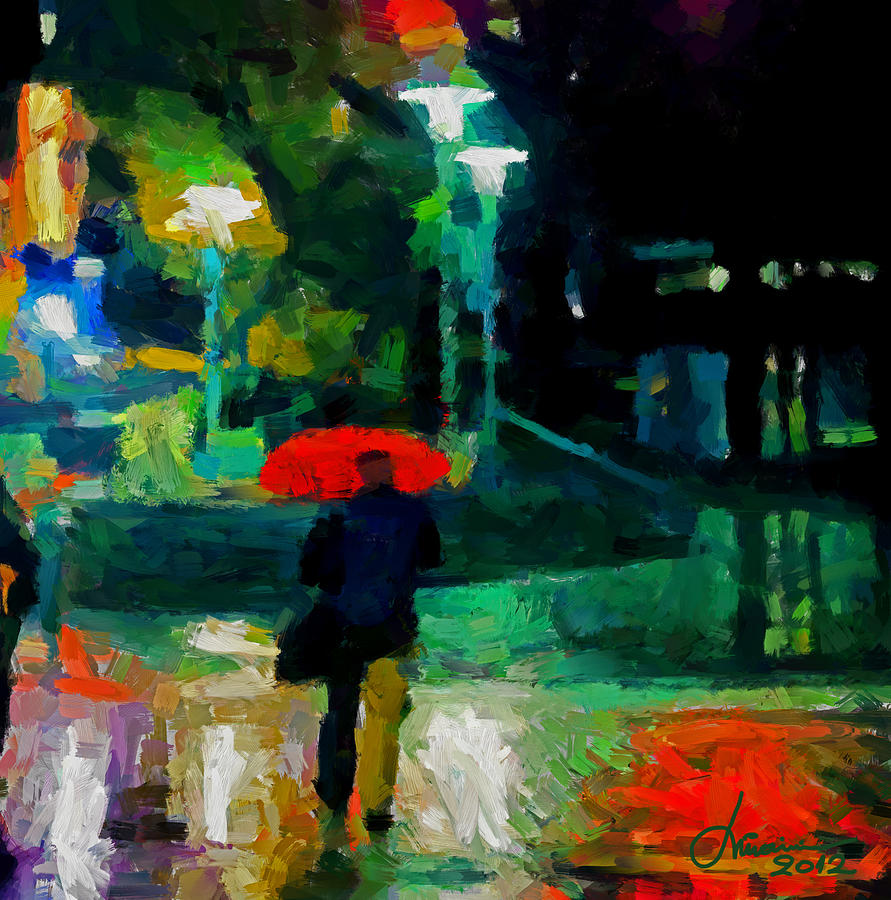 Monday Night On Dundas West Tnm Digital Art  - Monday Night On Dundas West Tnm Fine Art Print