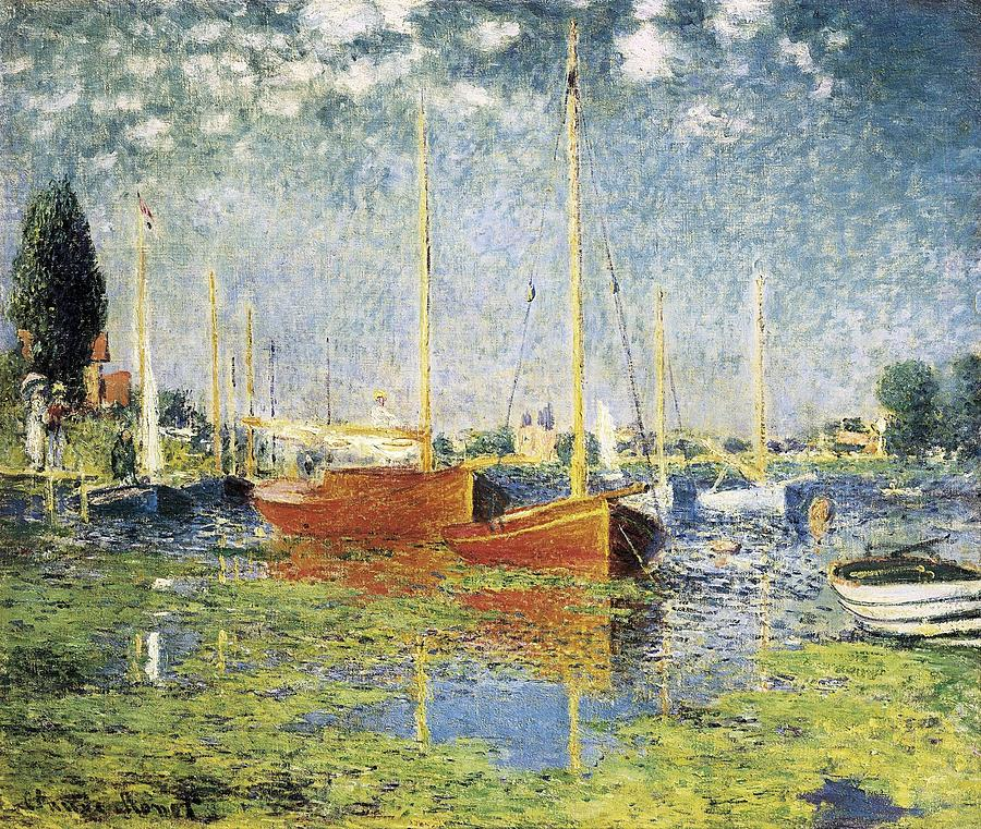 Monet, Claude 1840-1926. Argenteuil Photograph