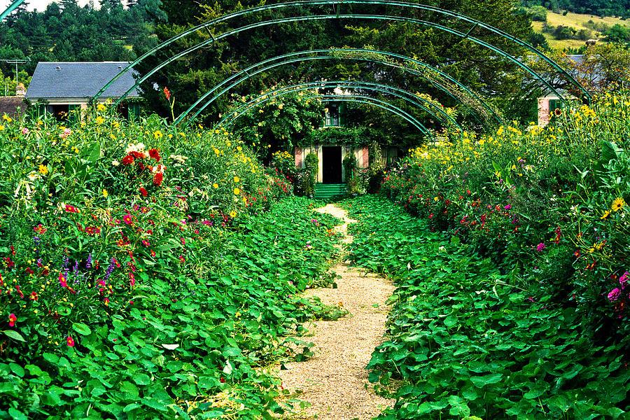 Monets Gardens At Giverny Photograph