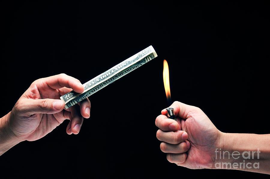 Money To Burn Photograph