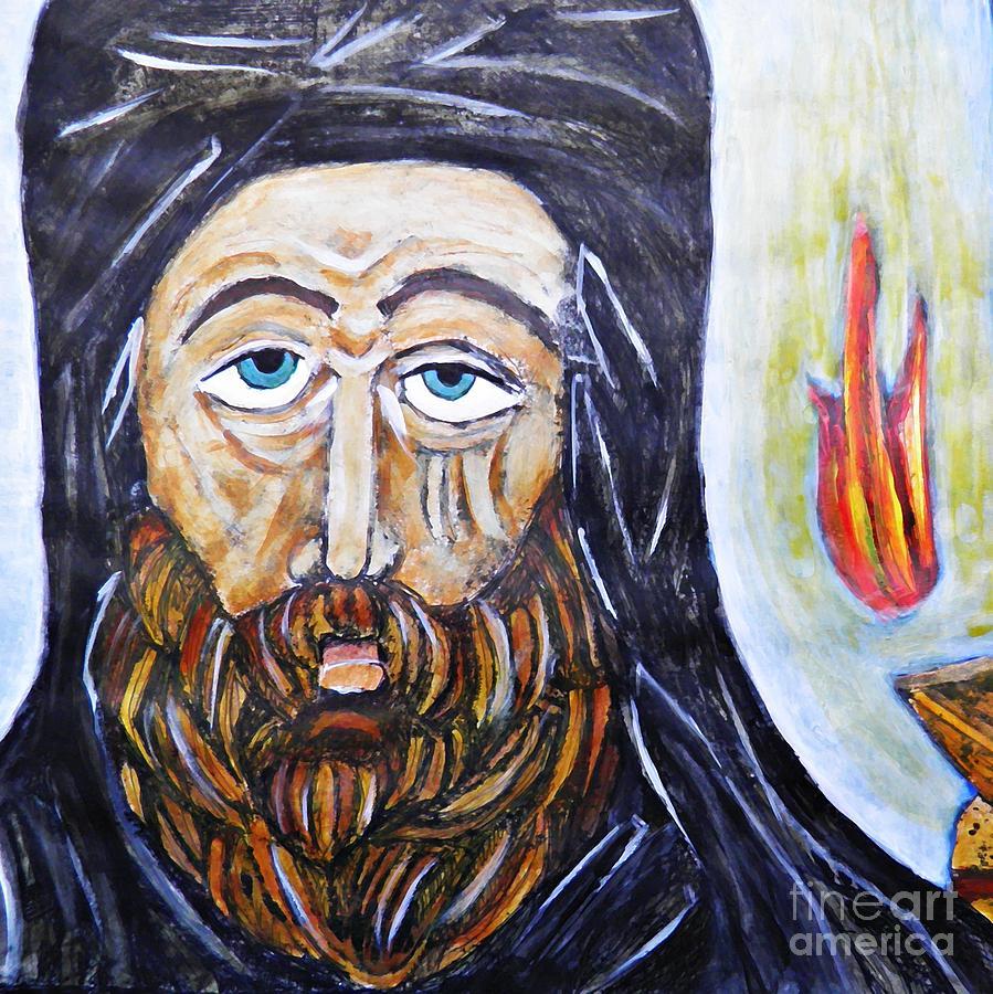 Monk 3 Painting - Monk 3 by Sarah Loft