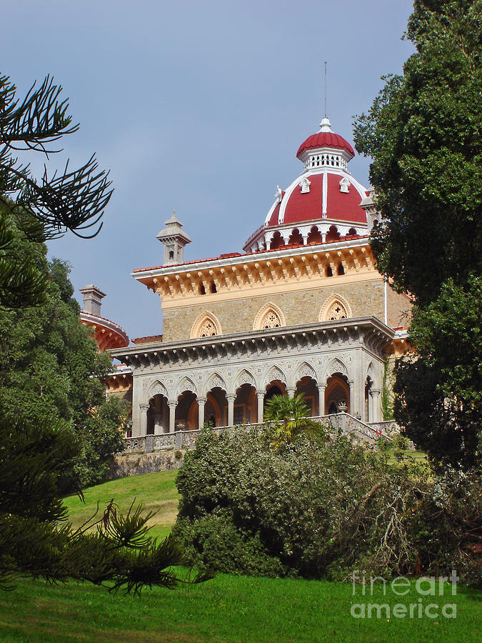 Monserrate Palace Photograph  - Monserrate Palace Fine Art Print