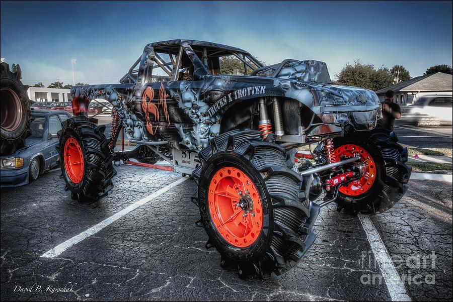 Monster truck photograph monster truck by david b kawchak custom