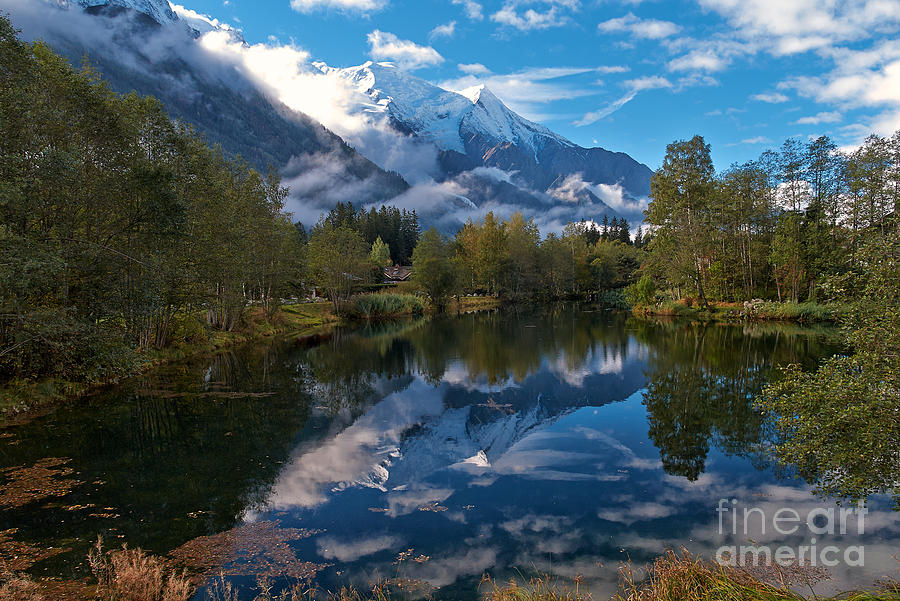 Mont Blanc Photograph - Mont Blanc Massiv by Juergen Klust