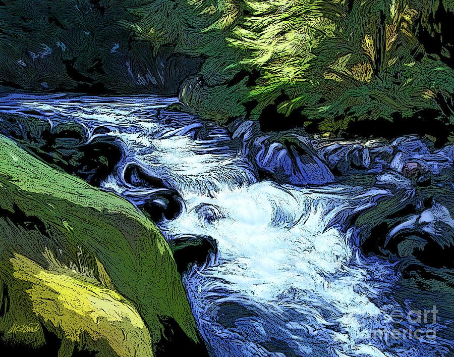 Montana Creek Painting