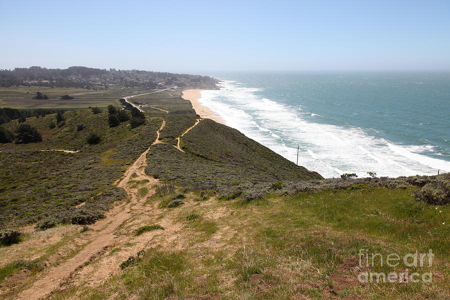 Montara State Beach Pacific Coast Highway California 5d22633 Photograph  - Montara State Beach Pacific Coast Highway California 5d22633 Fine Art Print