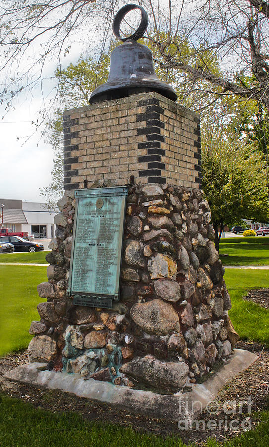 Montezuma Iowa Court House Monument Photograph