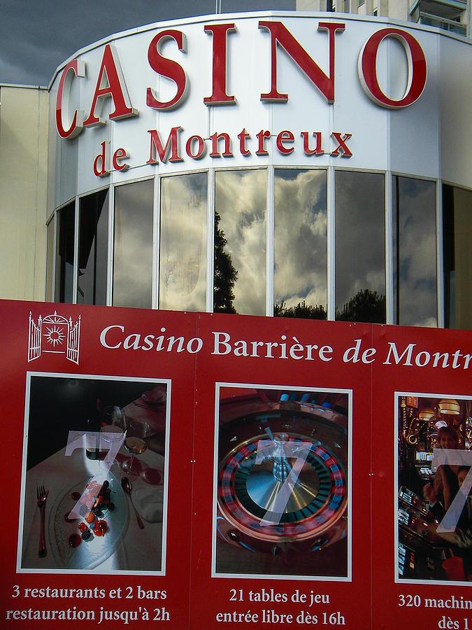 Montreux Casino Lake Geneva Switzerland Photograph
