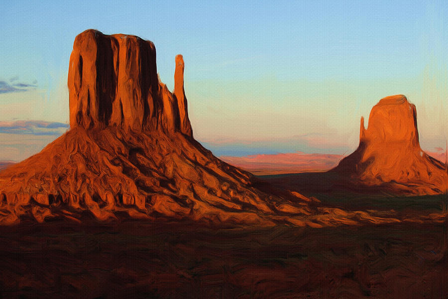 Monument Valley 2 Painting
