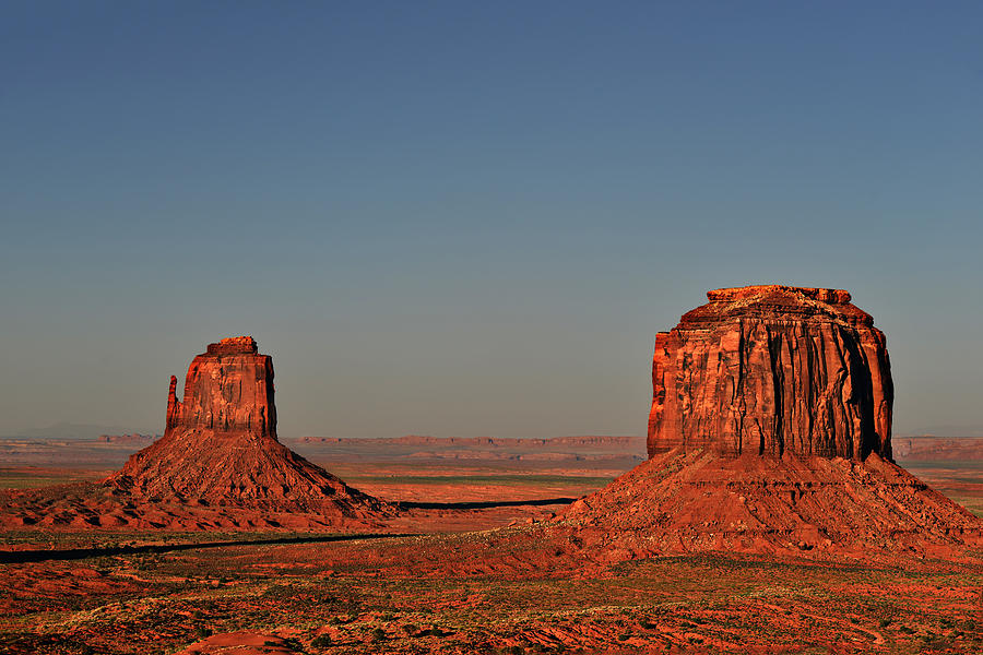 Monument Photograph - Monument Valley - East Mitten And Merrick Butte by Christine Till