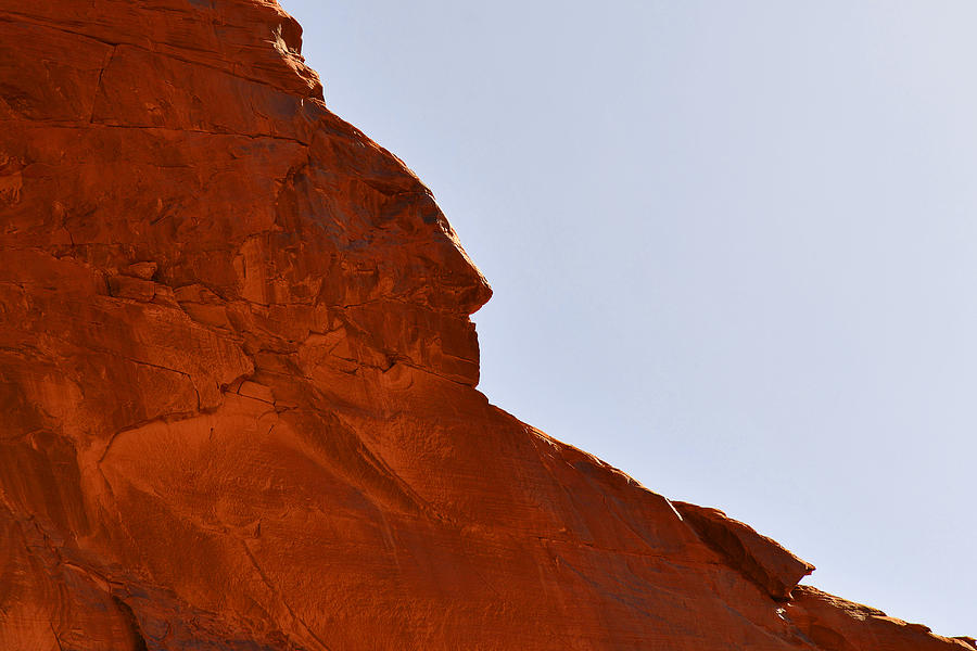 Monument Valley Indian Chief Photograph