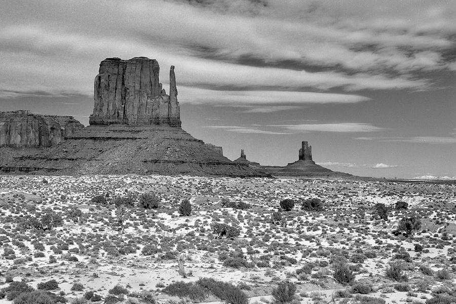 Monument Valley Winter Photograph