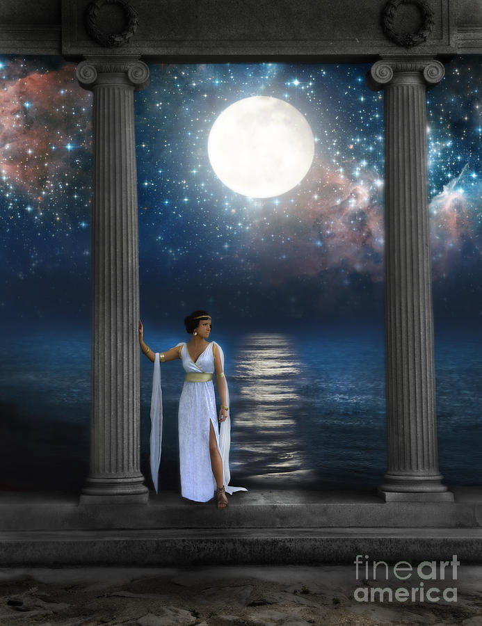Moon Goddess Photograph