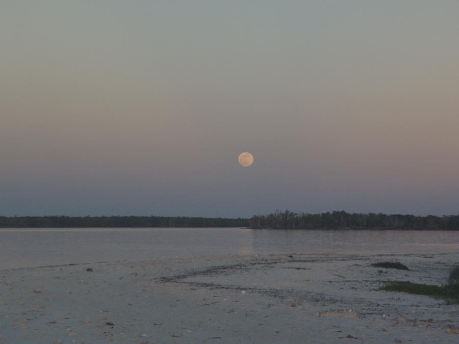 Moon Haze Photograph