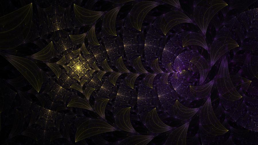 Leaves Digital Art - Moon Lit Path by Jhoy E Meade