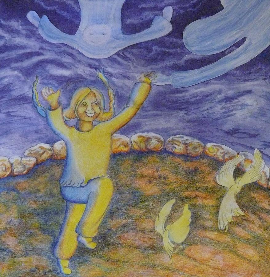 Moonchild - In Paradise Painting