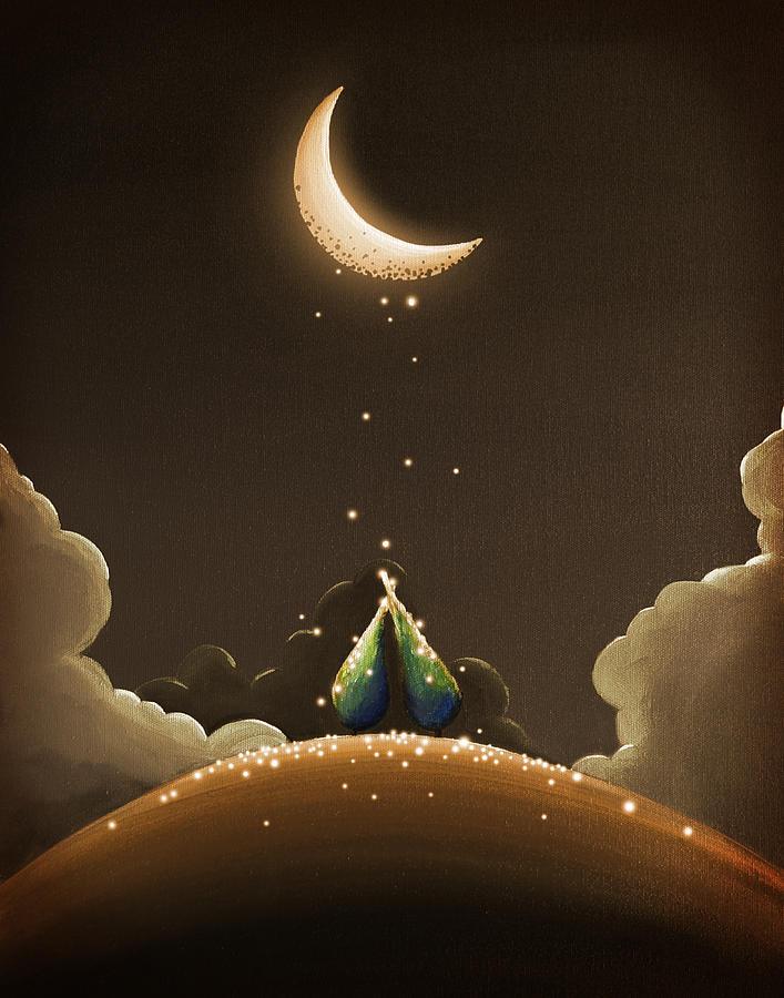 Moondust Painting By Cindy Thornton