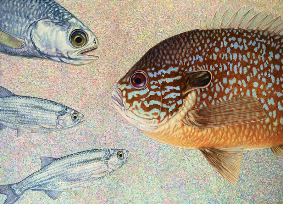 Mooneyes Sunfish Painting