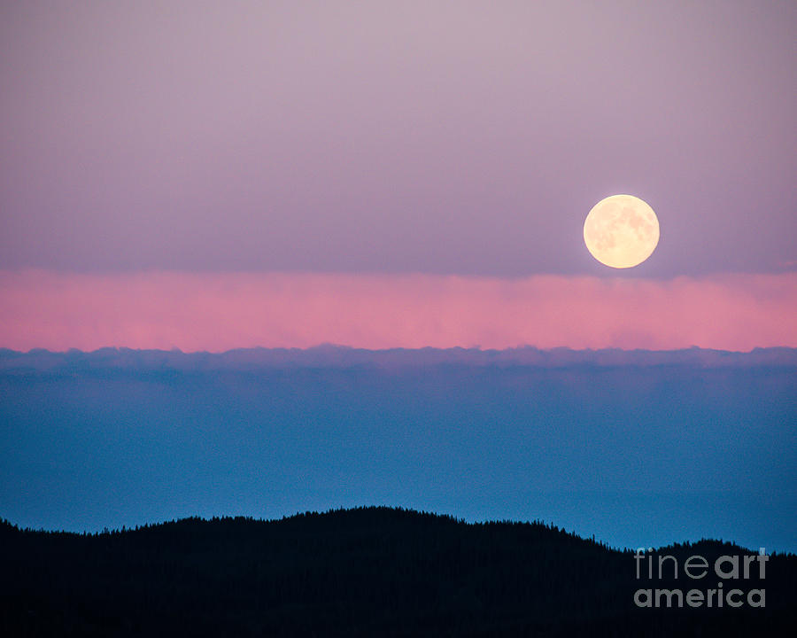 Moon Rise Photograph - Moonrise by Christina Klausen