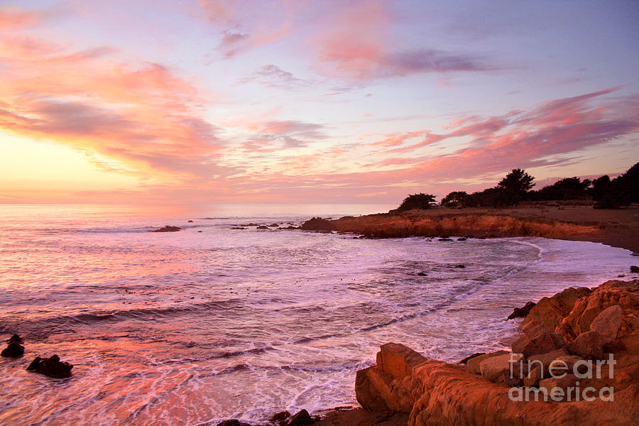 Moonstone Beach Cambria Photograph