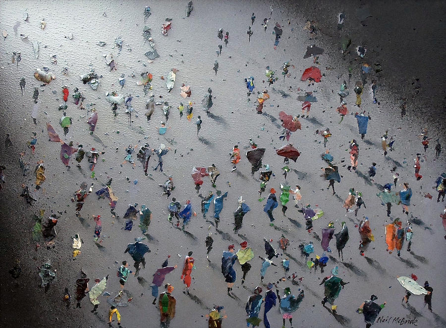 Art Painting - Moonwalk by Neil McBride