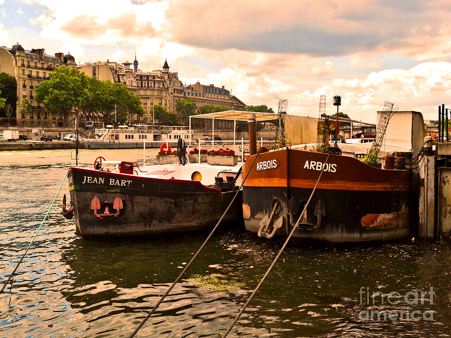 Moored Photograph  - Moored Fine Art Print
