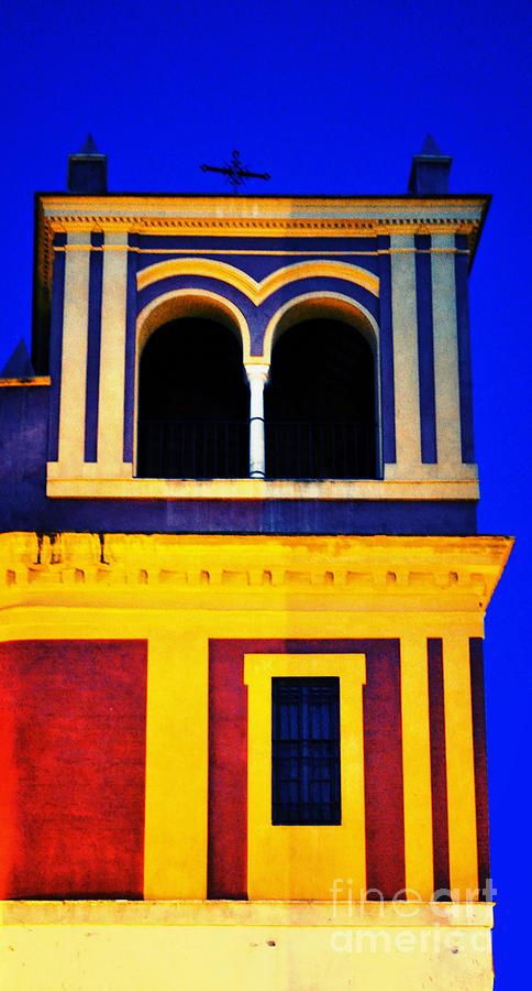 Moorish Seville Photograph - Moorish Seville by Mary Machare