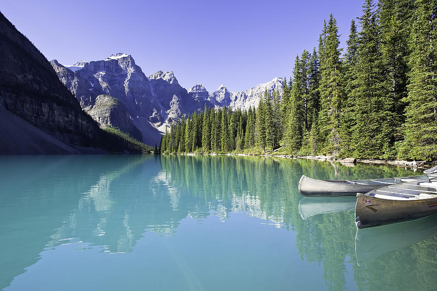 Moraine Lake And Valley Of The Ten Photograph