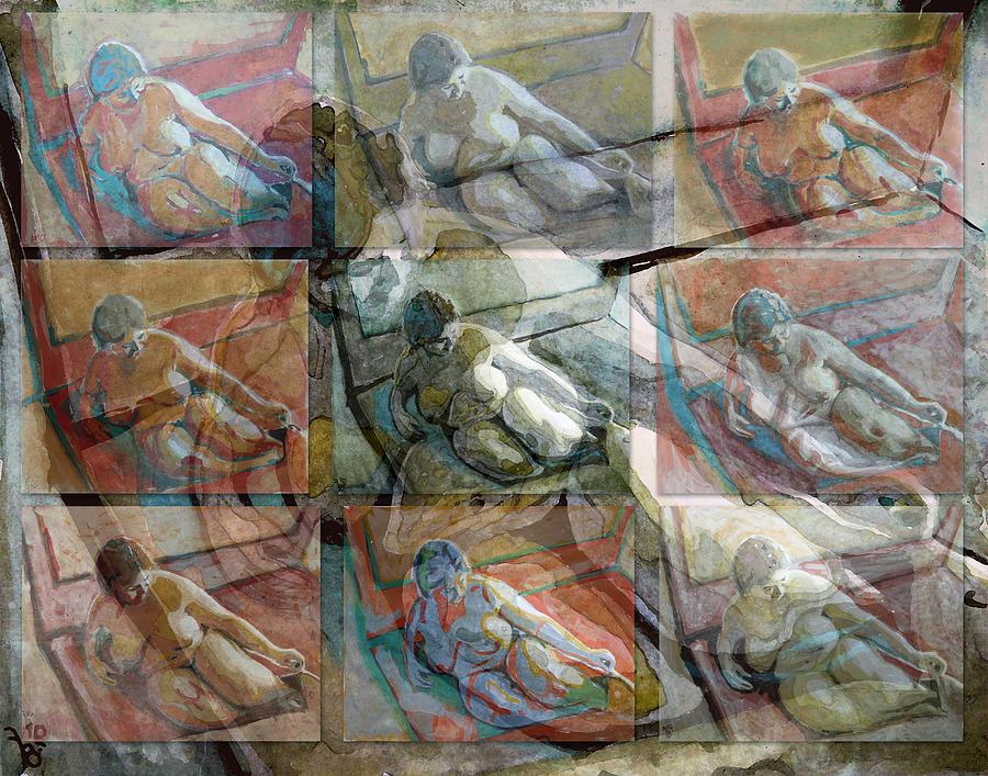 Act Painting - More Act by Florin Birjoveanu