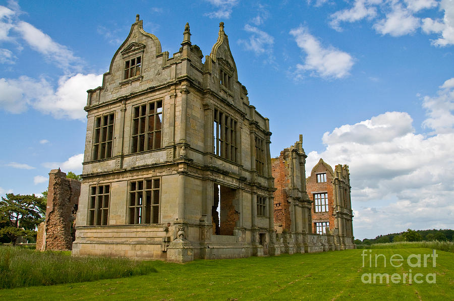 Moreton Corbet Castle 2 Photograph  - Moreton Corbet Castle 2 Fine Art Print