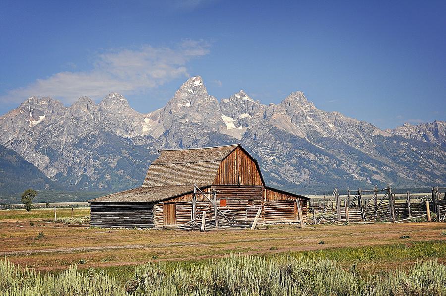 Mormon Barn 2 Photograph