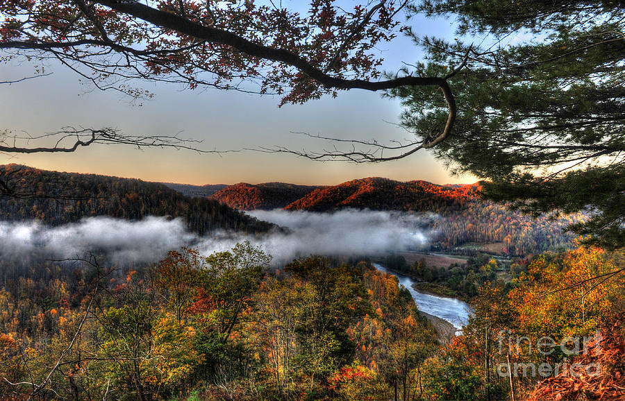 Morning Cheat River Valley Photograph
