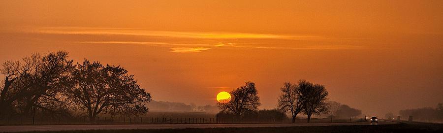 Morning Drive Photograph