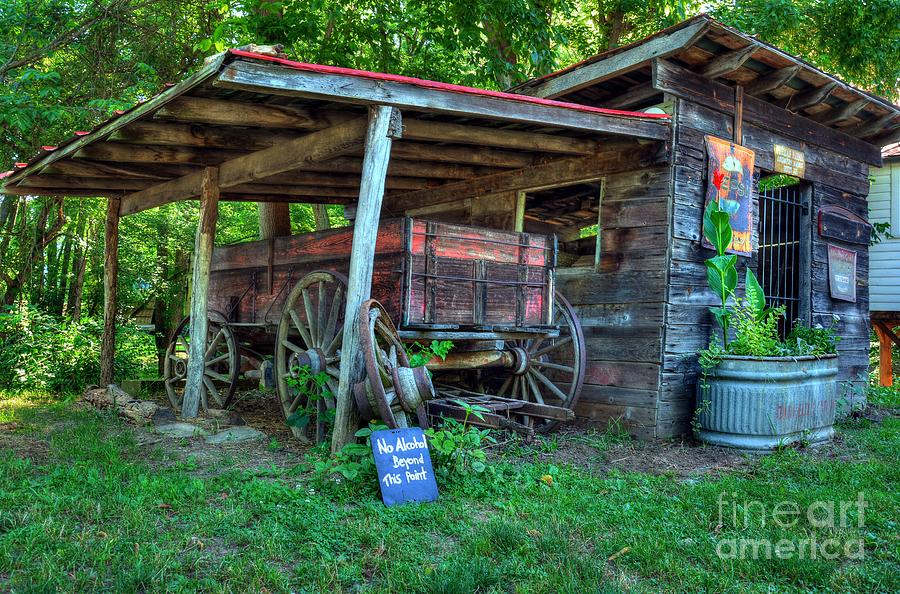 Morning In Rabbit Hash 2 Photograph  - Morning In Rabbit Hash 2 Fine Art Print