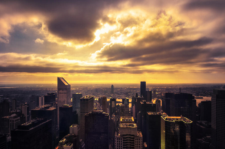 Morning Manhattan Photograph